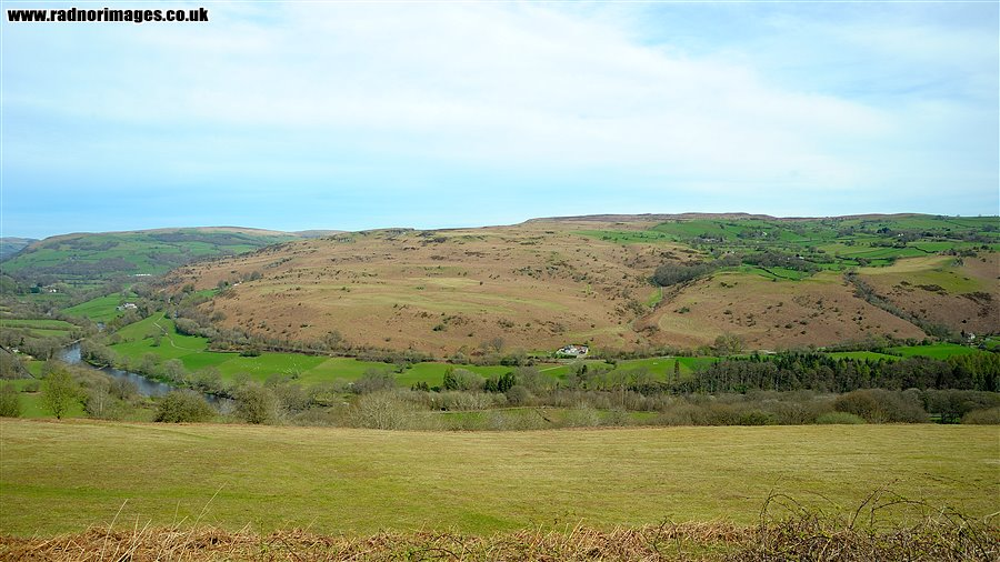 Llandeilo Hill from Pen Rwhi